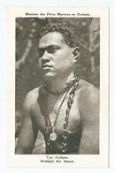 CP - MISSIONS Des PERES MARISTES En OCEANIE - ARCHIPEL Des SAMOA TYPE D'INDIGENE - Samoa