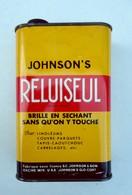 Ancien Bidon En Tôle JOHNSON'S RELUISEUL -  15 X 10 X 5 Cm - Scatole