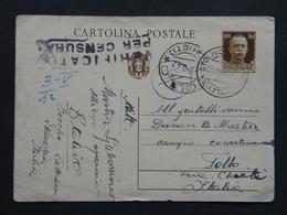 WW2 - ITALY OCCUPATION OF MONTENEGRO 1942- STOLIVO - CATTARO - TOLLO CHIETI - CENSURA - 9. Occupazione 2a Guerra (Italia)