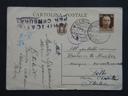 WW2 - ITALY OCCUPATION OF MONTENEGRO 1942- STOLIVO - CATTARO - TOLLO CHIETI - CENSURA - 9. WW II Occupation (Italian)