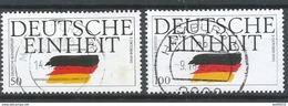 Germany/Bund Mi. Nr.: 1477 - 78 Vollstempel (brv90er) - Gebraucht