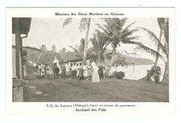 CP - MISSIONS Des PERES MARISTES En OCEANIE - ILES FIDJI ILE Des LEPREUX MAKOGAI SOEURS En TOURNEE De PANSEMENTS - Fidschi