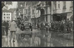 Rorschach - Hochwasser - Oldtimer - Belebt -1926 - SG St. Gallen