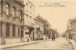 De Panne  *  Avenue De La Mer Et Route D'Adinkerke (HG,106) - De Panne