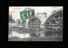 C.P.A. DE SAUNIERES 71 - Francia