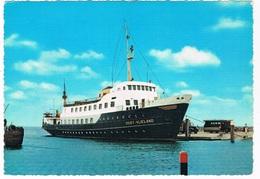 SCH-924  M.S. OOST-VLIELAND  ( Harlingen-Vlieland) - Ferries