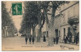 CPA - MARIGNANE (Bouches Du Rhône) - Cours Mirabeau - Marignane