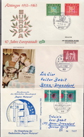 Germany 3 Used FDCs From 1963 - [7] Federal Republic