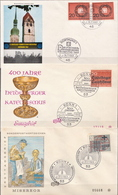 Germany 3 FDCs From 1963 - [7] Federal Republic