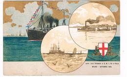 SCH-927  MILANO : Congresso Internazionale Di Navigazione 1905 - Barche