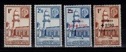 Cote Des Somalis - YV 191 / 192 & 251 / 252 N* Petain & Oeuvres Sociales Cote 3,20 Euros - Côte Française Des Somalis (1894-1967)