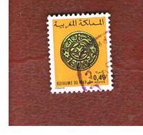 MAROCCO (MOROCCO)  -  SG 520 -   1979  COINS: FEZ COIN OF 1883  - USED ° - Marocco (1956-...)