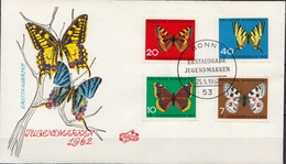 Germany Set On FDC - Butterflies