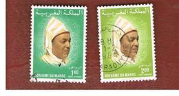 MAROCCO (MOROCCO)  -  SG 631.632    -   1983 KING HASSAN II  - USED ° - Marocco (1956-...)