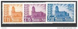 Finlande 1941 N° 231/233 Neufs ** MNH Reprise De Viipuri - Finland