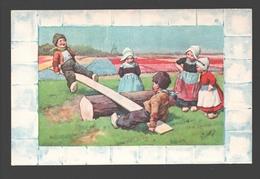 Fantasy / Fantaisie / Fantasie Kaart - Playing Kids / Enfants à La Jeu / Spelende Kinderen - Illustrator Signed - Groupes D'enfants & Familles
