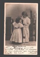 Fantasy / Fantaisie / Fantasie Kaart - Fillettes Dansantes / Dancing Girls / Dansende Meisjes - 1904 - Groupes D'enfants & Familles