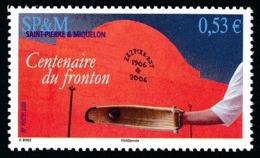 ST-PIERRE ET MIQUELON 2006 - Yv. 870 **   Faciale= 0,53 EUR - Sport: Pelote Basque. Cent. Du Fronton  ..Réf.SPM11569 - Neufs