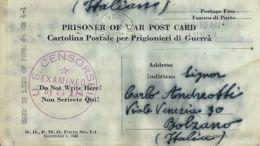 CARTOLINA PRIGIONIERI UNITED STATES POW CAMP HEREFORD TEXAS 1943 X BOLZANO - 1900-44 Vittorio Emanuele III