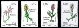 ST-PIERRE ET MIQUELON 2006 - Yv. 871 872 873 874 **   Faciale= 2,12 EUR - Fleurs. Orchidées (4 Val.)  ..Réf.SPM11570 - Neufs
