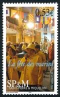 ST-PIERRE ET MIQUELON 2006 - Yv. 861 **   Faciale= 0,53 EUR - Fête Des Marins, Procession  ..Réf.SPM11563 - Neufs