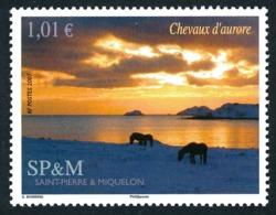 ST-PIERRE ET MIQUELON 2007 - Yv. 883 **   Faciale= 1,01 EUR - Paysage Avec Chevaux à L'aurore  ..Réf.SPM11573 - Neufs