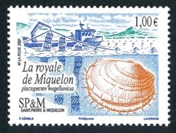 ST-PIERRE ET MIQUELON 2007 - Yv. 884 ** TB  Cote= 4,00 EUR - Coquille Royale De Miquelon  ..Réf.SPM11574 - Neufs