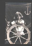 Fantasy / Fantaisie / Fantasie Kaart - Boy In Sailor Suit / Garçon En Costume De Marin / Jongetje In Matrozenpak - Scènes & Paysages