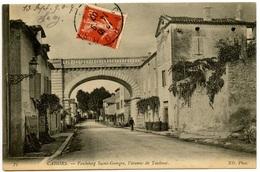 CAHORS - Faubourg Saint-Georges - L'Avenue De Toulouse - Peu Courante  -  Editions ND - Voir Scan - Cahors