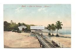 Para - Ilha De Tatuoca - Old Brazil Postcard - Belém
