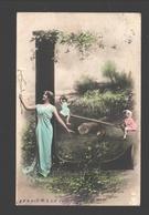 Fantasy / Fantaisie / Fantasie Kaart - Playing Kids / Enfants à La Jeu / Spelende Kinderen - 1905 - Scènes & Paysages
