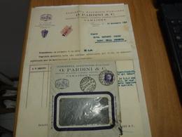 CAMAIORE   -- LUCCA   --- O. PARDINI  & C.  -- ARTICOLO CASALINGHI - Italia