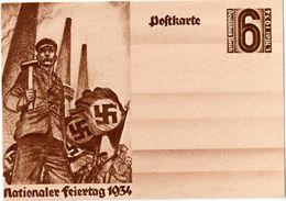 """Deutsches Reich 1934: Bild-PK CPI """"Nationaler Feiertag 1.Mai 1934"""" (ungelaufen / Non Circulé) - Fabriken Und Industrien"""