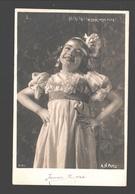 Fantasy / Fantaisie / Fantasie Kaart - Fille Souriante / Smiling Girl / Lachend Meisje - Laissez-moi Rire - Photo Card - Scènes & Paysages
