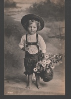 Fantasy / Fantaisie / Fantasie Kaart - Petit Enfant Pieds Nus / Small Child Barefoot / Klein Kind Op Blote Voeten - Scènes & Paysages