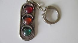 Porte Clé Feu Tricolore Saint Christophe Nous Protège - Key-rings