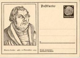 """Deutsches Reich 1933: Bild-PK CPI """"Martin Luther 1483 - 10.November 1933"""" (ungelaufen / Non Circulé) - Theologen"""