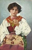 "5081 "" COSTUMI DI CIOCERIA (PROV. DI ROMA) "" - CART. ORIG.  SPED. - Costumi"