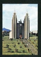 AK Island Church Of Akureyri (I116) - Island
