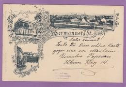 HERMMANSTADT UM 1897. - Rumänien