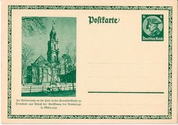 """Deutsches Reich 1933: Bild-PK CPI """"Garnisonskirche Potsdam & Friedrich II Der Grosse"""" (ungelaufen / Non Circulé) - Kirchen U. Kathedralen"""