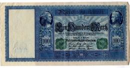 """Allemagne 100 Mark 1910 """"vert"""" - 100 Mark"""