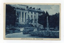 Levico Terme (Trento) - Grand Hotel - Viaggiata Nel 1943 - (FDC16601) - Hotels & Restaurants