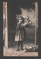 Fantasy / Fantaisie / Fantasie Kaart - Girl / Fille / Meisje - Portret / Portrait - 1908 - Glossy - Portraits