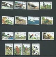 Christmas Island 1982 Bird Definitive Set Of 16 MNH - Christmas Island