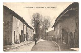 CIZE     ( Jura )      QUARTIER HAUT ET ROUTE DE MOREZ - Francia