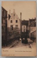 Bruxelles - Rue De La Porte Rouge (rue Haute) - Très Peu Courante, Apparemment - Ed.Nels, Série 1 N° 382 - 1900 - Bruxelles (Città)