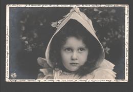 Fantasy / Fantaisie / Fantasie Kaart - Girl / Fille / Meisje - Portret / Portrait - 1904 - Photo Card - Portraits