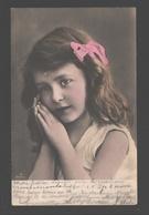 Fantasy / Fantaisie / Fantasie Kaart - Girl / Fille / Meisje - Portret / Portrait - 1905 - Portraits