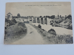 ROUANS - Bords Du Canal Vers L'Ecluse à Buzay Ref 0600 - France